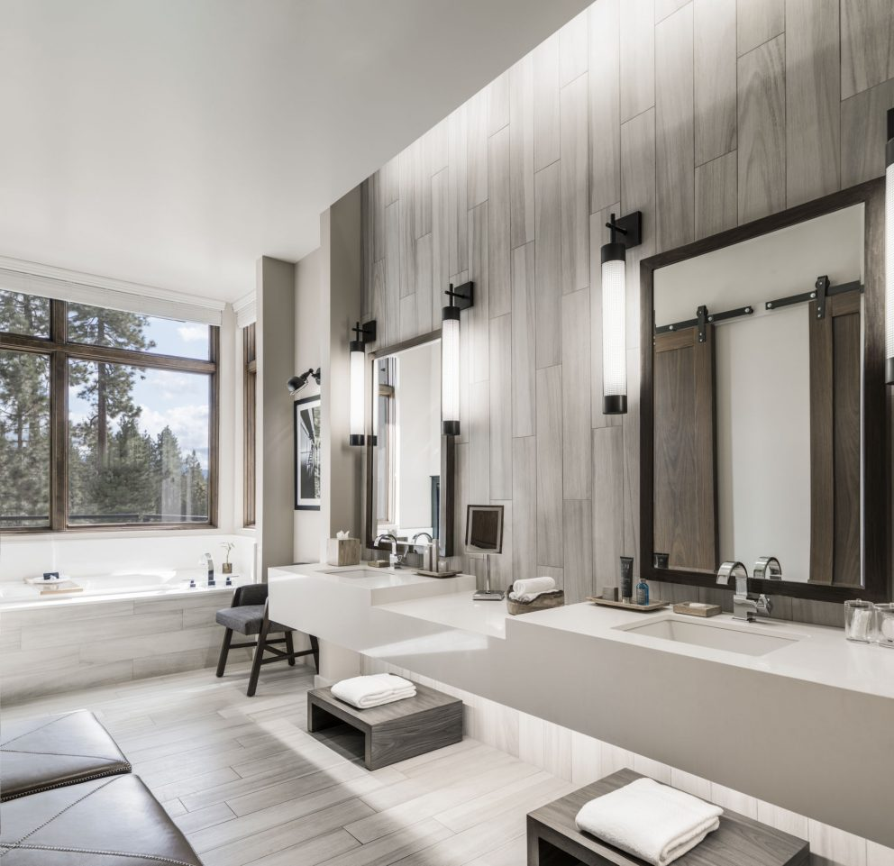 Tahoe Premier King and Double Queen Bathroom